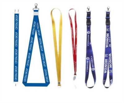 Sản xuất dây đeo thẻ, in logo lên dây đeo thẻ