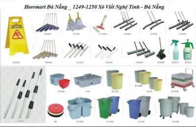 Bộ dụng cụ lau sàn chuyên dụng cho khách sạn, siêu thị