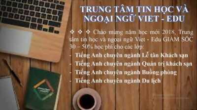 Khóa học Tiếng Anh chuyên ngành Du lịch Khách sạn tại Đà Nẵng