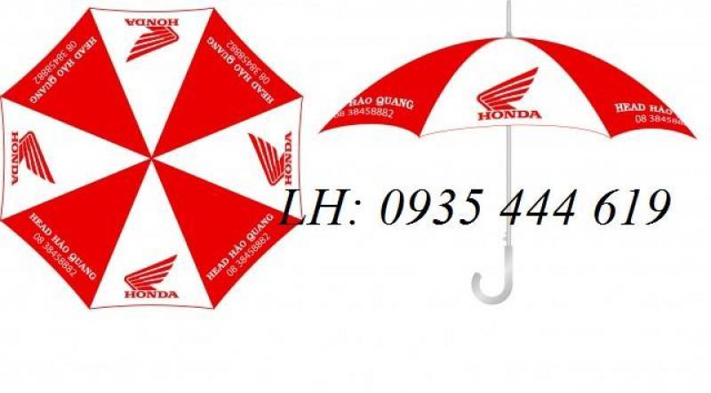 Dù cầm tay in logo - quảng cáo thương hiệu tại Đà Nẵng