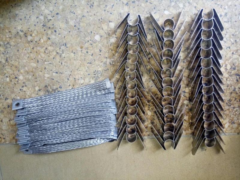 Kẹp + dây Điện trở cacbon silic phi 30