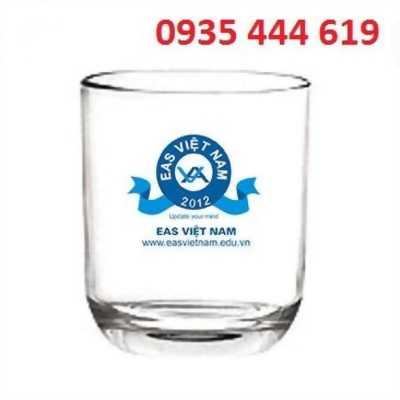In logo lên ly thủy tinh theo yêu cầu tại Đà Nẵng 0935 444 619