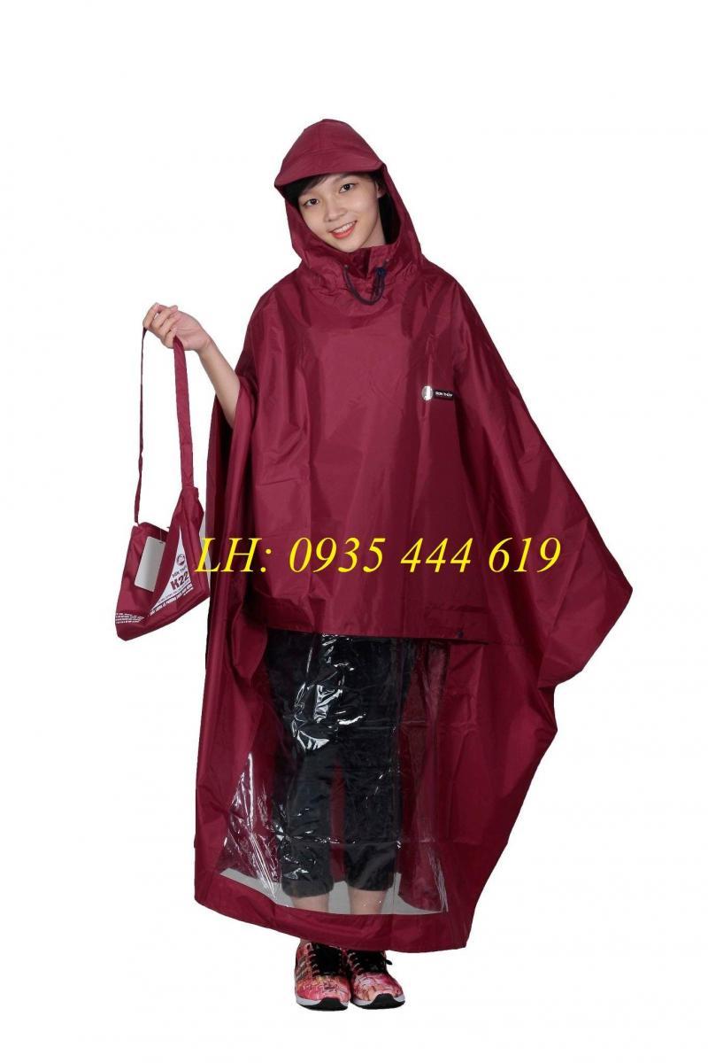 Quảng cáo thương hiệu doanh nghiệp bằng áo mưa quảng cáo tại Huế