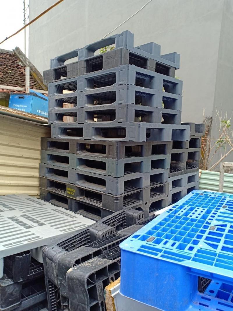 Chuyên bán pallet nhựa nâng hàng, kê hàng 0988 081 327