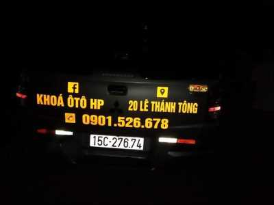 Làm chìa khoá ô tô tại hải phòng 0901526678