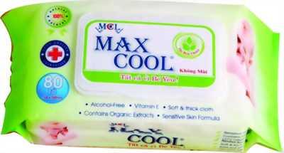 Khăn ướt cao cấp Max Cool