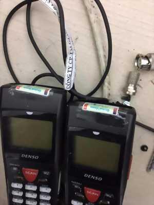 thanh lý 2 máy kiểm kê Denso BHT 900 Series