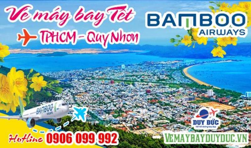Vé máy bay Tết TPHCM đi Quy Nhơn Bamboo Airways