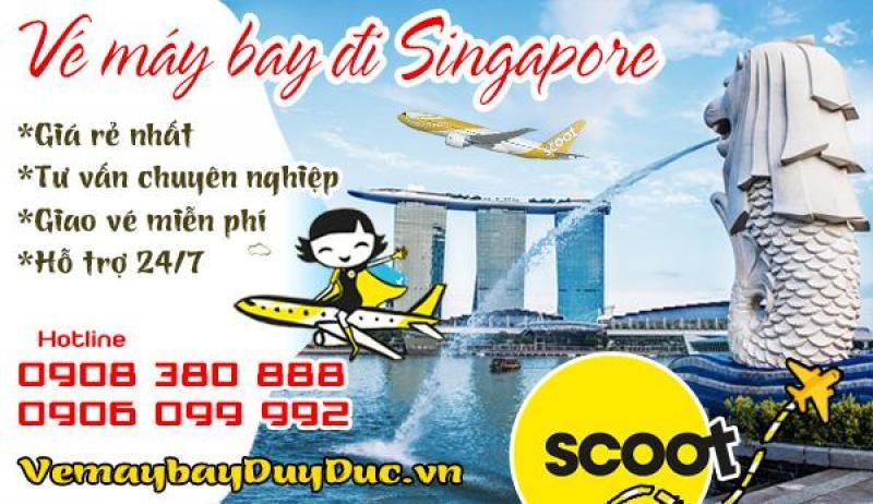 Vé máy bay đi Singapore Scoot