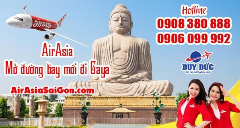 AirAsia mở đường bay mới đi Gaya Ấn Độ