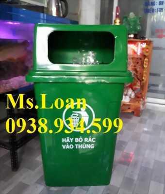 Thùng rác y tế 95 lít nắp hở,thùng rác nhựa nắp hở 95 lít