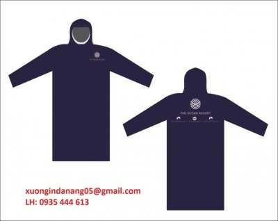 In logo lên áo mưa giá rẻ tại Quảng Trị