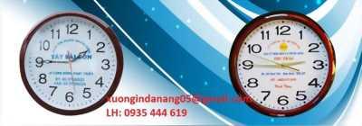 Làm đồng hồ treo tường quà tặng giá rẻ Quảng Trị 0935 444 619