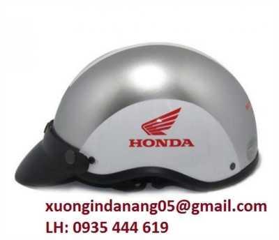 In mũ bảo hiểm quảng cáo theo yêu cầu tại Quảng Bình