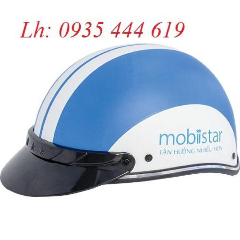 Tư vấn, báo giá mũ bảo hiểm quảng cáo tại Quảng Bình