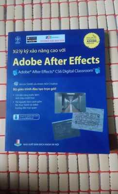 2 sách giáo trình dựng kỹ xảo bằng After Effect của đại học FPT