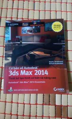 2 sách giáo trình 3DS Max phối cảnh Vray và tạo hình nhân vật của đại học FPT