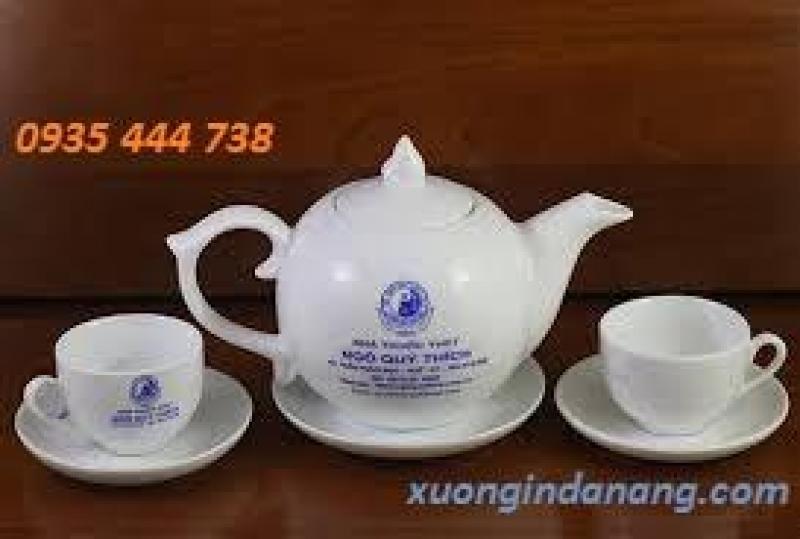 In logo bộ ấm trà tại Quảng Nam giá rẻ| báo giá bộ ấm trà