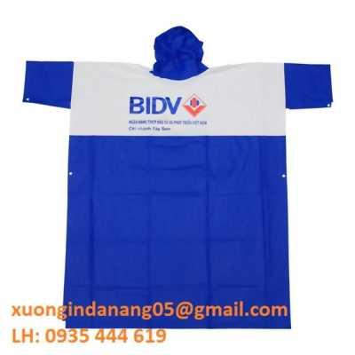 In áo mưa quà tặng giá rẻ, áo mưa quảng cáo Huế 0935 444 619