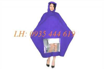 Áo mưa cánh dơi, áo mưa bít, in áo mưa quảng cáo tại Huế