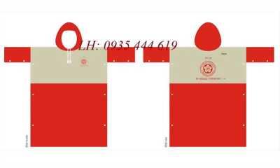 Sản xuất áo mưa cánh dơi in logo doanh nghiệp tại Huế
