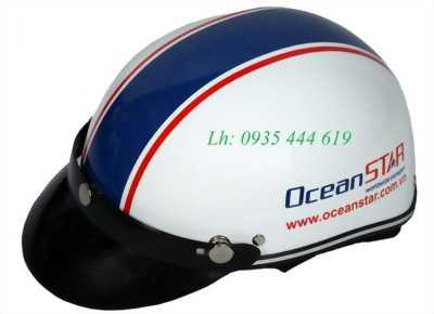 In logo công ty lên mũ bảo hiểm theo yêu cầu giá rẻ tại Huế