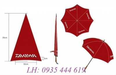 Sản xuất dù cầm tay in logo giá rẻ tại Quảng Trị