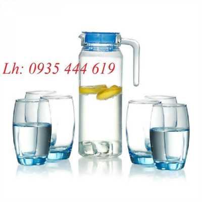 Xưởng in bộ bình ly thủy tinh quà tặng Tết tại Huế