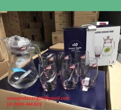 xưởng in ly thủy tinh giá rẻ, ly thủy tinh quà tặng Huế 0935 444 619