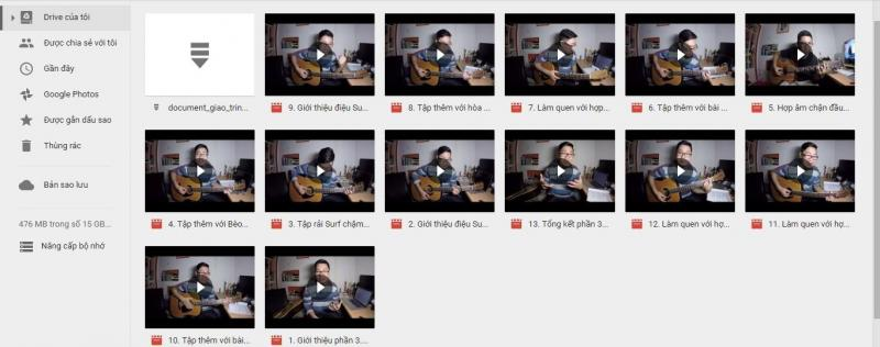 Khóa học guitar trong 30 ngày của hiển râu
