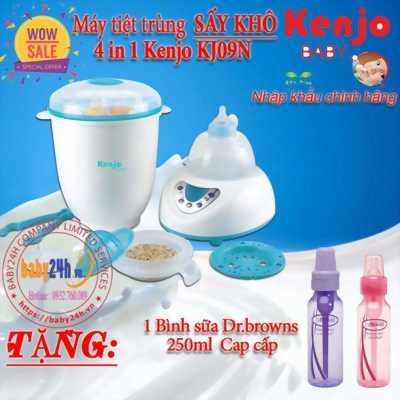 Máy tiệt trùng bình sữa sấy khô KJ09N