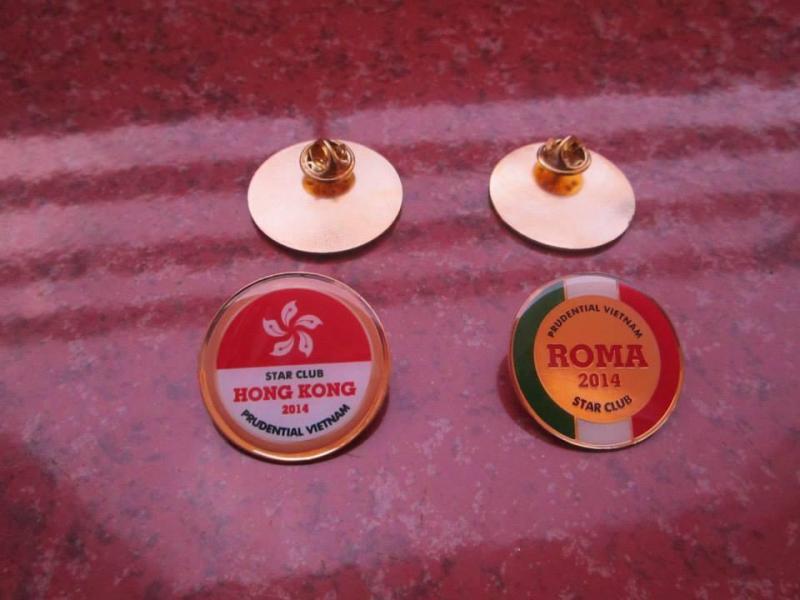 Địa chỉ làm huy hiệu đồng mạ vàng, huy hiệu kim loại