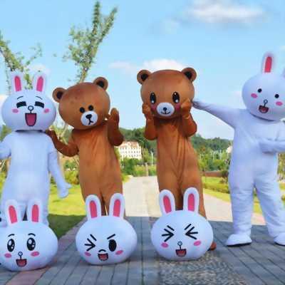 Mascot gấu brown,bán mascot gấu brown giá rẻ tp hcm