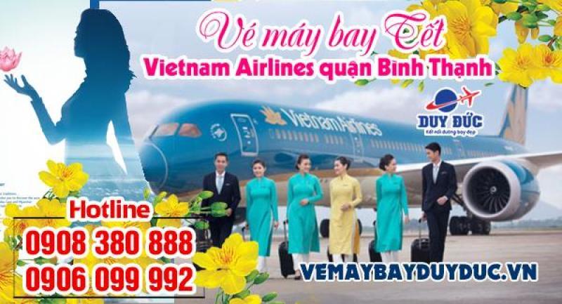 Vé máy bay tết Vietnam Airlines quận Bình Thạnh