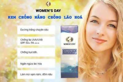 KEM CHỐNG NẮNG, CHỐNG LÃO HÓA DA WOMEN'S DAY