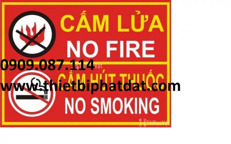 Nội quy tiêu lệnh cấm lửa cấm thuốc giá rẻ 0909.087.114