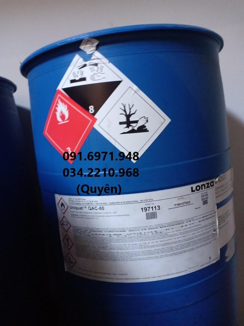Mua bán BKC 80% nguyên liệu Mỹ sát trùng ao nuôi thủy sản hiệu quả, giá tốt