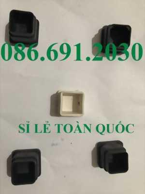 Chụp cao su, nút bịt đầu các loại theo kích thước ống hộp