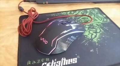 Mouse Game Vaio LED 7 màu