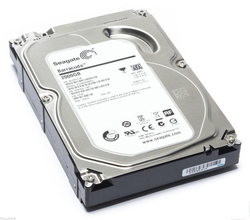 HDD 3.5 SATA3 2TB