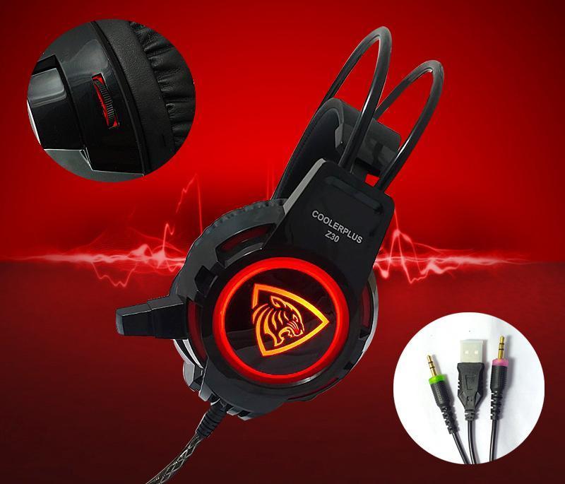 Headphone Gaming Coolerplus Z30 Proone chính hãng
