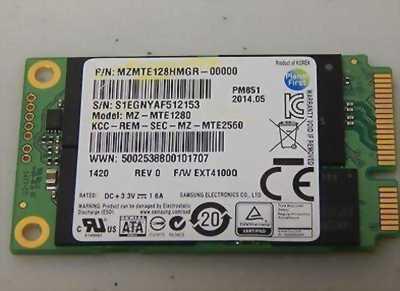 Ổ cứng laptop samsung msata 128GB SSD