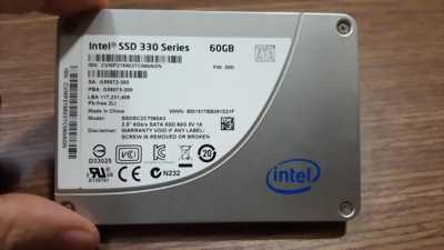 Ổ cứng laptop 60GB Intel SSD 330 Series