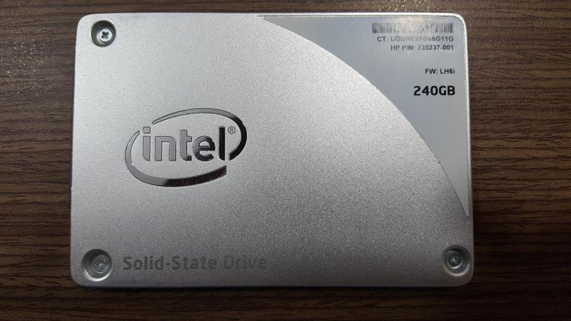 Ổ cứng laptop 240GB SSD Intel SSD Pro 1500 Series