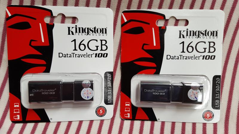 Usb 3.0 16GB Kingston DataTraveler 100 G3