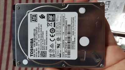Ổ cứng laptop 1TB (1000GB) TOSHIBA | Ổ cứng zin tháo máy