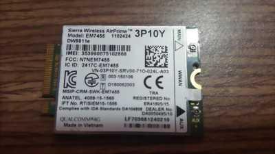 Card WWAN 4G Dell DW5811e - EM7455 (3P10Y)