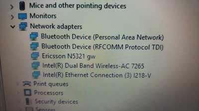 Card wwan 3G Lenovo N5321 cho X240,T440,W540,T540p