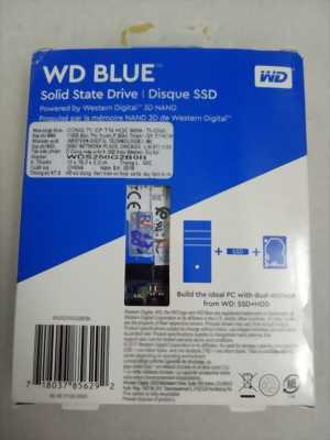 Ổ cứng laptop SSD M.2 2280 250GB Western Digital Blue 3D-NAND