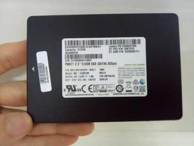 Ổ cứng laptop Samsung dung lượng 512GB SSD